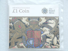 2008 Royal Mint Last Year of Issue Royal Arms BU £1 One Pound Coin Pack