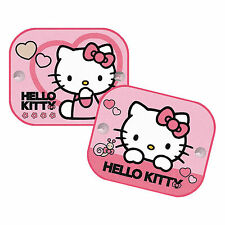 Conjunto de 2 tonos de sol para un lado del coche o ventanas traseras-Anti UV-Hello Kitty Nuevo
