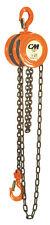 Columbus McKinnon 2233- Series 622- Hand Chain Hoist 2 Ton with 20' chain fall