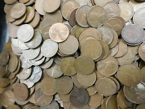 Lincoln Wheat Cent Penny 1C Copper  P D S Unsearched $50 Face Bag 5000 count