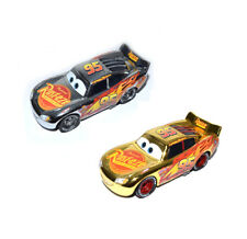 Disney Pixar Cars 3 Diecast Gold & Silver Rust-eze Lightning Mcqueen Loose Car