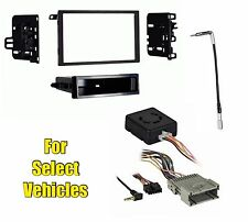 Stereo Radio Install Dash Kit + Wire Harness + Antenna Adapter Combo w/ w/o Bose