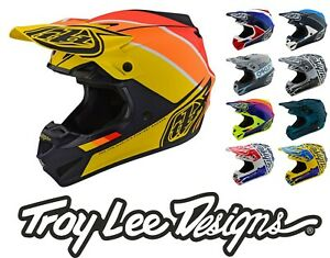 20% OFF Troy Lee Designs 2019/FALL SE4 Polyacrylite MIPS TLD Motocross Helmets