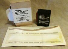 Mti Auto Orchestra Latin Rhythm Cartridge P/N 637-3 w/ Plastic Overlay! Nos
