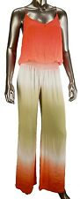 NWT Young Fabulous & Broke Mills Jumpsuit Fire Ombre Size L