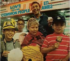 """ED AMES!! - """"LOVE OF THE COMMON PEOPLE"""" RCA LSP-4249 STEREO NM-!!"""