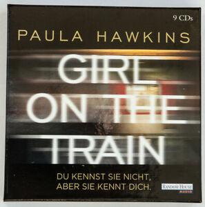 Paula Hawkins, GIRL ON THE TRAIN hörbuch cd krimi