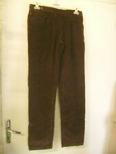 "Beau pantalon en velours ""Dolce & Gabbana"" marron taille 48 IT/44 FR"