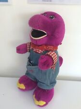 ORIGINAL BARNEY THE DINOSAUR PLUSH TOY.COWBOY