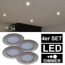 4x LED Einbau Spots DIMMBAR Decken Lampen Strahler Leuchten Karton beschädigt