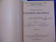 Réguis / Il Cours moyen d'électricité industrielle. livre 1 théorique. dynamo...