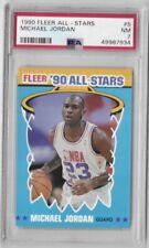 1990-91 Fleer Michael Jordan All Stars Sticker No. 5 PSA 7