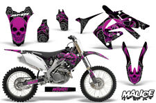 Honda CRF250R Dirt Bike Decal Wrap Number Plate MX Graphic Kit 04-09 MALICE PURP