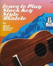 How To Play Slack Key Style Ukulele/Low G Tuning/Actual MSRP/New!