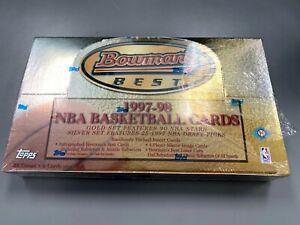 1997/98 Bowman's Best Basketball Unopened Box (Hobby) *Read Description