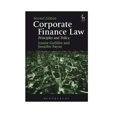Corporate Finance Law by Jennifer Payne (author), Professor Louise Gullifer (...