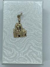 Disney Castle Pendant 14kt Gold