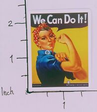 We Can Do It Cool Sticker Strong Woman Independent Muscle Bandana Head Office
