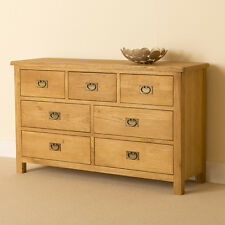 Lanner Oak 3 Over 4 Chest of Drawers