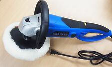 "7"" Electric Car Polisher Variable Speed Buffer Sander 1400w rear twist handle"