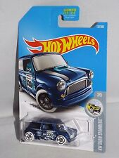 Hot Wheels 2017 Hw Snow Stormers Series #137 Morris Mini Blue