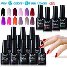 Belen Gel Nail Polish UV LED Soak Off Top Base Coat Long lasting Manicure