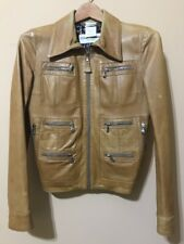 D&G Leather Jacket. Made in Italy.  Size EU 38