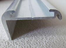 "92"" Aluminum Vinyl Insert Type Roof Edge Molding RV Trailer 5/8""x 1 3/16"""