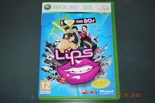 Lips I Love the 80s Xbox 360 UK PAL Game **FREE UK POSTAGE**