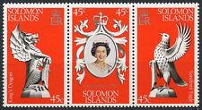 Islas Salomón 1978 Coronación Mnh Set #a 91897