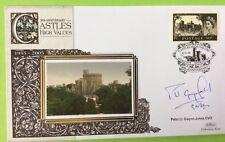 22.3.05 British Castles, 50p, Windsor Castle. Sig. Ll. GWYN-JONES, Heraldry