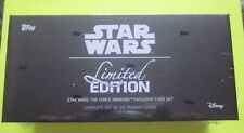 Star Wars The Force Awakens Complete 310 Card Set Limited Edition Topps