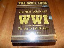THE WAR ZONE First World War One WWI Battles 5-DVD Sealed Metal Tin DVD SET NEW