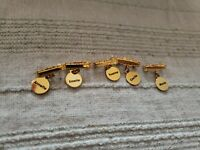 REPRODUCTION MADAME ALEXANDER DIONNE QUINTUPLETS NAME PINS  NEVER USED, all work