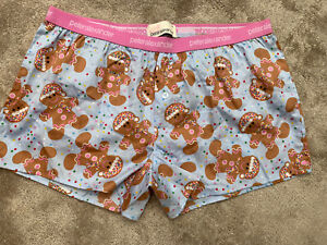PETER ALEXANDER LADIES PJ BOXER SHORTS SIZE EXTRA SMALL XS