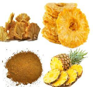 Dried organic pineapple fruit powder/flour/Tidbits/Rings premium grade A Quality
