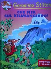 Geronimo Stilton - Che fifa sul Kilimangiaro! - Kinder  [G.239]