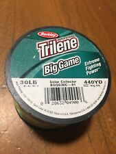 Trilene Big Game 30 Lb  440 yds Solar Collector Fishing Line Spool  .022