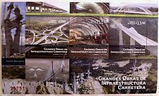Mexico 2011 Highway Projects Architecture Bridge Mazatlan Tuxpan Cars Trees MNH