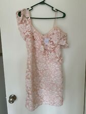 Club Monaco Pink Lace Dress Size 4 NWT