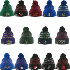 New Era NBA KNIT REPEAT Winter Cold Weather Pom Pom Beanie Hat Cap