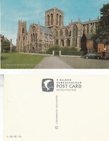 1970's YORK MINSTER FROM THE SOUTH EAST YORK YORKSHIRE UNUSED COLOUR POSTCARD