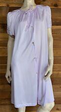 New listing Vintage Lorraine Lavender Size Medium Robe #10797