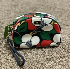 Kate Spade New York  Medium Dome Cosmetic Wristlet Clutch Bag Dawn Breezy Floral