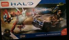 Mega Construx Halo Forgehog Vs. Banished Goliath Building Set FVK36 Bloks CHOP