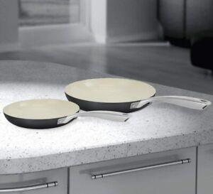 Morphy Richards - 2 Piece 24/28cm Frying Pan - Ceramic non Stick Coating