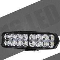 1PC Motorcycle LED Headlight Motorbike ATV UTV Truck 16LEDs Spot Light Lamp Bulb
