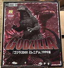 Millennium Godzilla 1999 / 2000 (MIB) Kaiju X-Plus Garage Toy Vinyl Figure