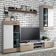 Moderne Wohnwände Tango Wohnzimmer-Set Möbel Schrank Lowboard Vitrine Elegant