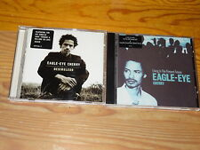 EAGLE-EYE CHERRY - LIVING IN THE PRESENT, DESIRELESS / 2 VERSCHIEDENE ALBUM-CD'S